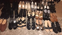 A lot off shoes men's and women's sizes 8 to 11 most off them brand new give me an offer selling all together