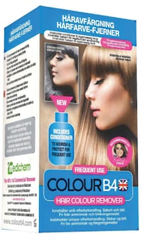 2st COLOURB4 HAIRCOLOUR REMOVER FREQUENT USE Sverige