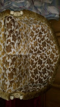 white and brown leopard print textile Calgary, T1Y 1P7