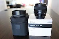Sigma 30mm 1.4 ART Lens For Canon Issaquah, 98027