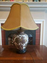 brown and white table lamp Kitchener, N2G 1W3