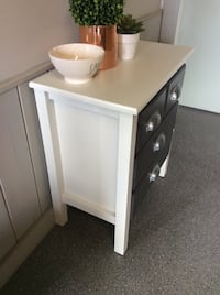 Two new solid wood side tables