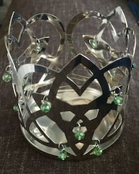 Celtic Hand Beaded Candle Holder