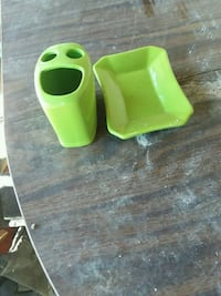 green plastic container with lid Ward, 72176