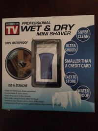 Brand New in package Professional Wet & Dry Mini Shaver
