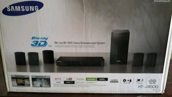 New Samsung 3d DVD Blueray home theater