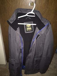 black and purple zip-up jacket 3689 km