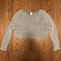 Crop sweater - size small  Toronto, M2N 7K2