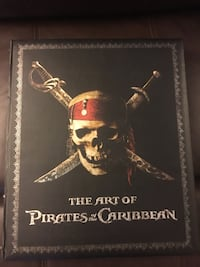 Pirates of the Caribbean art book Spruce Grove, T7X 1K2