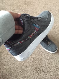 Pair of Black Air Force 1s Size 13 Davenport, 52806