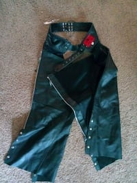 Mens leather chaps 5xl Wichita, 67212