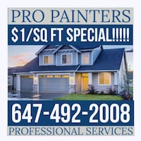 Exterior painting Richmond Hill