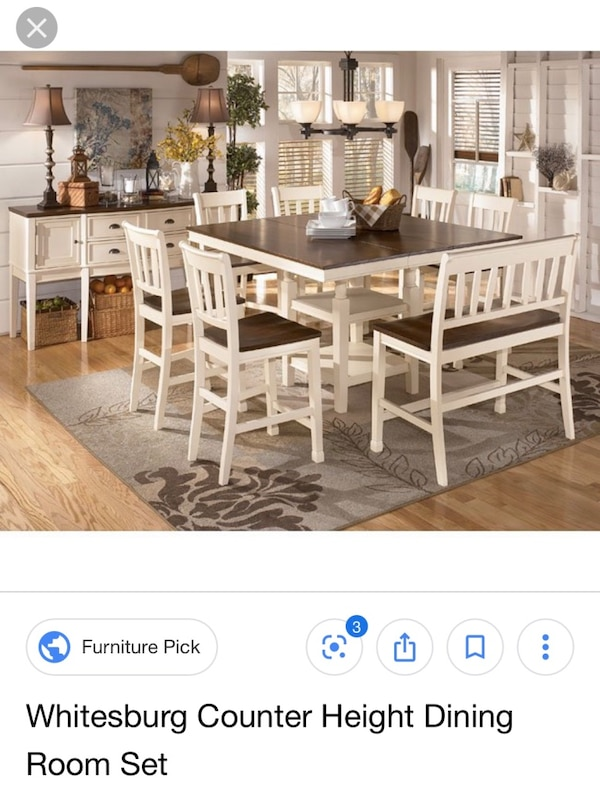 Ashley Furniture Table Chairs Bench