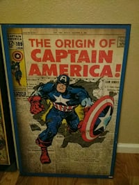 Captain America wall art Killeen, 76541
