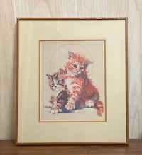 Kitty Cats Painting