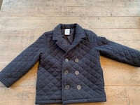 "Gymboree Boys ""Loch Ness Heroes"" Quilted Peacoat - Size S(5-6) Richmond Hill, L4E 0C3"