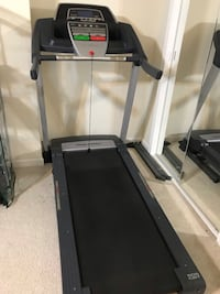 black and gray automatic treadmill Rockville, 20850