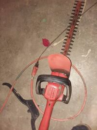 red and black hedge trimmer Oroville