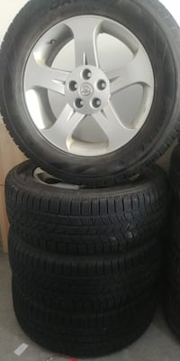 Winter Tires and Rims - 255/60R/18 Kitchener, N2R 1Z4