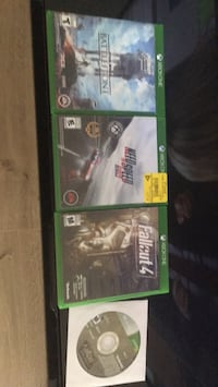 two Xbox One game cases Mission, V2V 6T7