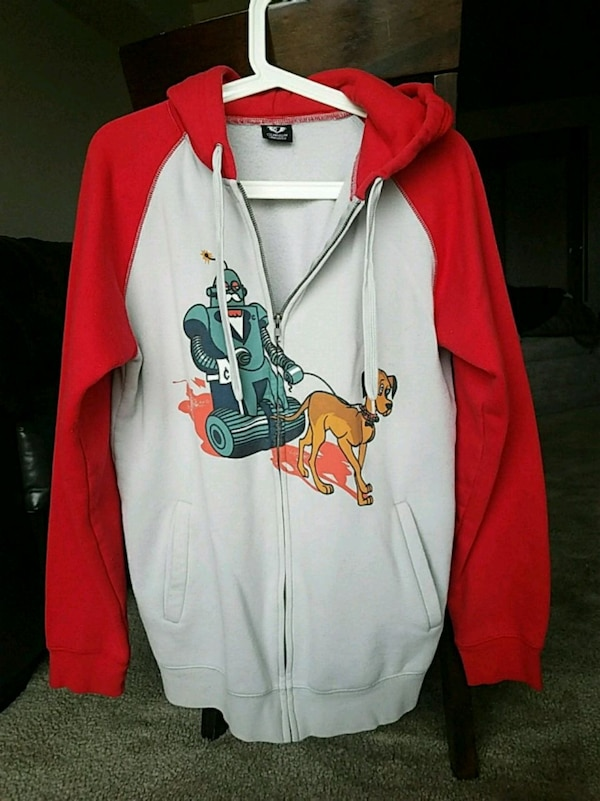 58797e193569 Used Clandestine Industries Zip-up Hoodie Size-M for sale in Mishawaka -  letgo