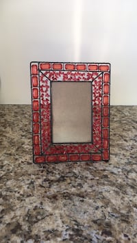 Ornate red with black wiring 4/6 picture frame from Iran Toronto, M2R 3N5