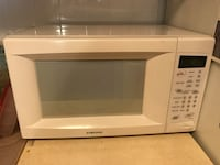 white General Electric microwave oven New York, 10027