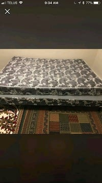 black and white floral mattress London, N6K 1L4