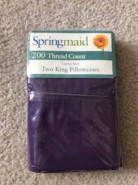 NEw in package king size pillow cases
