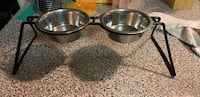 Small elevated pet bowls Metairie, 70003