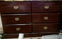 Used dresser with mirror and matching chest  Birmingham, 35214