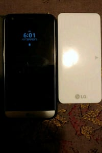 white LG android smartphone with black case Surrey, V3T 5Y1