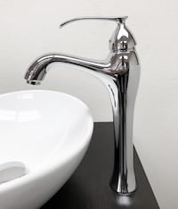 New $35 Modern Bathroom Faucet Vessel Vanity Sink Single Hole Basin, 3 Finish South El Monte