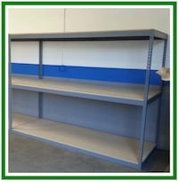 Warehouse Racking New Industrial Boltless Storage Shelving Los Angeles