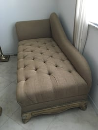 Designer Michael Amini Chaise - over 2k new and in brand new condition.  Beautiful carved wood - truly an original one of a kind treasure and this is a steal.  Will not fit in my new house. Vero Beach, 32968