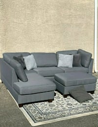 Beautiful grey modern sectional