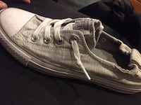 White with grey stripes converses  Winnipeg, R2G 2Z8
