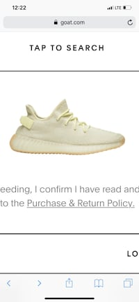unpaired white Adidas Yeezy Boost 350 V2 Washington, 20020