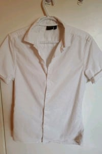 ASOS White Short Sleeve Shirt Surrey, V3W 7K4