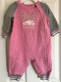Pink Baby Roots Jumper