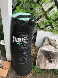 black Everlast heavy bag with stand Lombard, 60148
