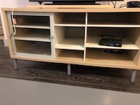 TV stand with lazy Susan and sliding door Dallas, 75230