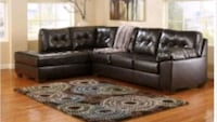 New Ashley Sectional Sofa Leather