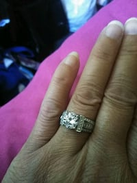 Silver ring size 9