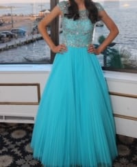 SHERRI HILL SWEET 16 DRESS FLUSHING