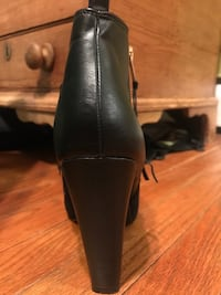 Steve Madden Jannyce Leather Suede Boots Silver Spring, 20906