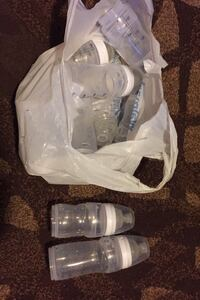 Bag full of Playtex Nurser Porte-sac baby bottles Knoxville