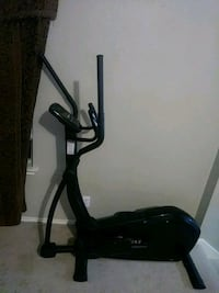 black and gray elliptical trainer Manor, 78653