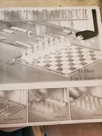 Fifth Avenue Crystal 3 in 1 Game set