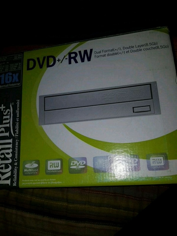 DVD reader and writer for PC